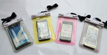 Fashion New Dustproof Waterproof Pouch Bag Dry Case Cover for cell phone