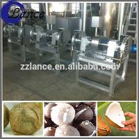 stainless steel coconut dehusker/coconut dehusking machine