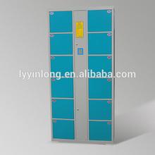 Cheap durable factory sale direct electronic barcode locker, safe shoe locker