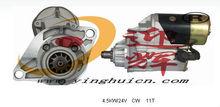 024000-3040 4.5KW/24V CW 11T Auto Starter MOTOR FOR 6HK1 ISUZU HITACHI 330