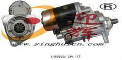 65-26201-7049A 26201-7049 4.5KW/24V CW 11T Auto Starter MOTOR FOR daewoo 220-3 daewoo 300LC DAEWOO 170 250-3 290 330LL DH200
