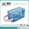 2014 china travel mesh PVC cosmetic bag makeup case