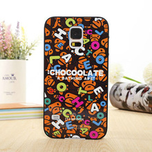 Animal letters for galaxy s5 cover bulk cell phone case
