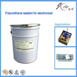 Heat resistant polyurethane sealant for electron component