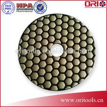 100mm High Top Quality Diamond Dry Polishing pad for Stones