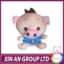 ICTI and Sedex audit new design EN71 plush toy blue pig