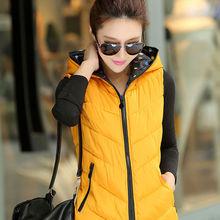 MS50141W Lady's Hot Sale Vest Body Warmer Fashion High Quality Cotton Vest/Winter Vest/Women Vest