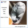 woven dust filter bag/fiberglass filter bag for coal burning boiler plant