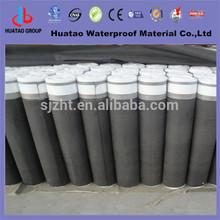 -25 4mm Polyester based asphalt waterproof roll PE film
