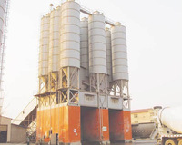 Factory direct sale good quality HZS240 (240m3/h) concrete batching staton with CE:ISO