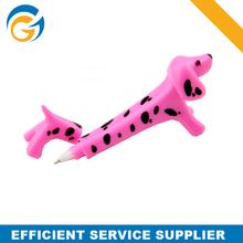 Pink Animal Dog Shape Ballpoint Pen China