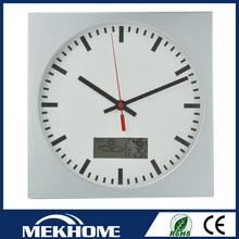 wholesale china plastic cheap custom led digital wall clock