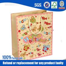fashion birthday paper bag manufacturer