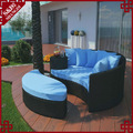 exóticos de patio al aire libre sofá de los muebles en su jardín