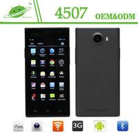 4.5 inch IPS RAM 1G ROM 4G Camera 2.0M 5.0M Bluetooth GPS android mtk 6582 quad core smartphone