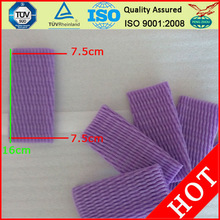 plastic foamable sleeve for fruit protection 16cm