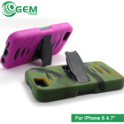Heavy Duty Armor Full Protective Phone Case For iPhone 6 4.7