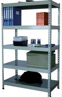 home bolt less rack,slotted angle iron shelving,perforated rivet