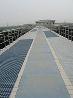 WellGRID Factory Supply High Strength GRP FRP Fiberglass Ditch Cover