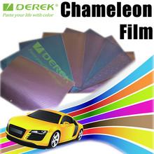 Chameleon car vinyl Wrap 3D Carbon Fiber Film with Air Free Bubbles/Size:1.52*30m Car Stickers