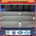 AHS- sinterizzazione- 525 filtrazione ad alta efficienza/conveniente micron sinterizzazione filtro feltro