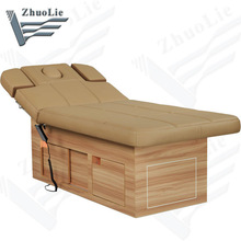 Wholesale Solid Wooden Electric Massage Table (D14916)