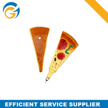 Food Pizza Shape Yellow Ink Ballpoint Pens for sale