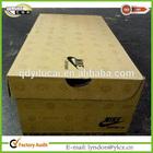 New watermark printing hard paper Nike shoes packaging box