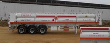 China Made Cng Semi-Trailer With 3 Axle Chasis