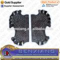 componente de hierro forjado y las placas de bloqueo de hierro forjado placa de puerta