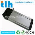 36v 9ah/11ah/13ah bicicleta elétrica da bateria de lítio rack traseiro