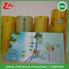 food package xinnanya wrap 9.5 mic 10 mic 11 mic food cling wrap film roll pvc cling film
