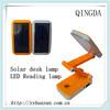 solar led desk light flexible led desk lamp rechargeable led desk lamp