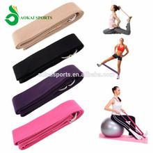 Yoga Strap D-Ring Belt Pilates Fitness Home Exercise Gym Fitness
