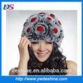 venta al por mayor hermosa rosa de color rosa sombrero ruso mz1343 las mujeres