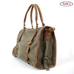 vintage canvas bag for men wholesale military men's canvas bag