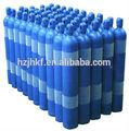 90l aço sem costura para cilindro de gás oxigênio, nitrogênio, argon, hélio, o acetileno
