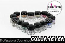 Wholesale Popular high pigment mineral loose eyeshadow powder kozmetic eyeshadow palette