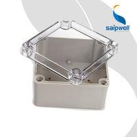 SAIP/SAIPWELL Project Box 125*125*75mm Waterproof Plastic Transparent cover Electronic Enclosure Box