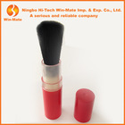 Goat hair! natural retractable blush brush in red tubes