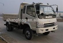 Diesel Fuel Type and 5ton Capacity (Load) 4x4 mini dump truck
