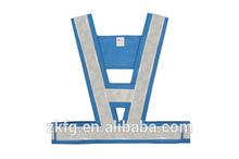 EN471 standard safety reflective vest with reflective tapes