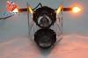 HL-103+TSL-090 Motorcycle Street Racing Headlight Magic Crystal Ball Bulbs, Motorcycle Headlight With Turn-Signals