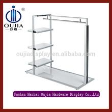 wholesale clothing racks/mens clothes display rack/display rack for clothes