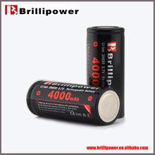 High quality 26650 4000mah e-cigarette battery wholesale