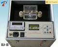 Portátil del transformador automático probador de aceite dieléctrico/voltaje/bdv dispositivo de medición de la serie iij-ii-60/80/100