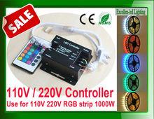 wholesale Energy saving 1000w 110v 220v remote control led dimmer apply for 120V 220V 230V SMD 3528 5050 strip