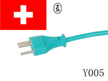 swiss 3 pin extension power cords