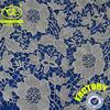 Milk fible fashion stylish crocheted lace fabric wholesale