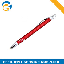 Red Classic Metal Thin Ballpoint Pen Best Price for Wholesale